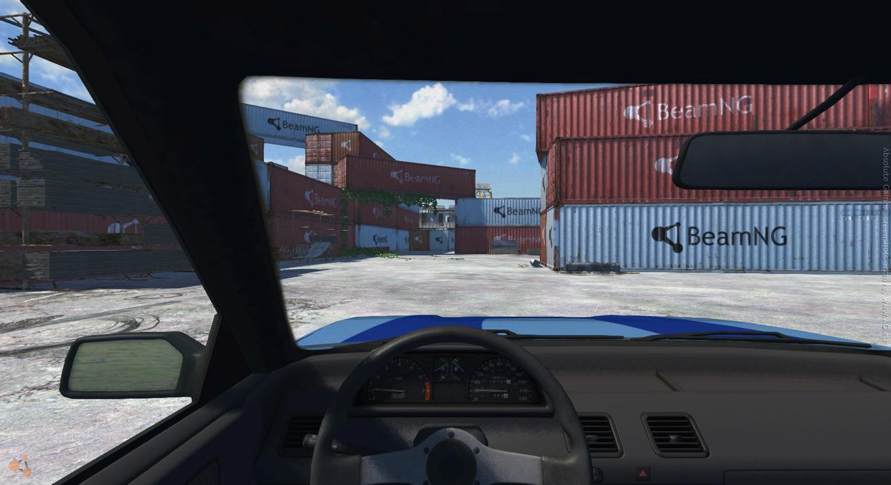 Скриншот BeamNG.drive v0.5.6.1 скачать торрентом