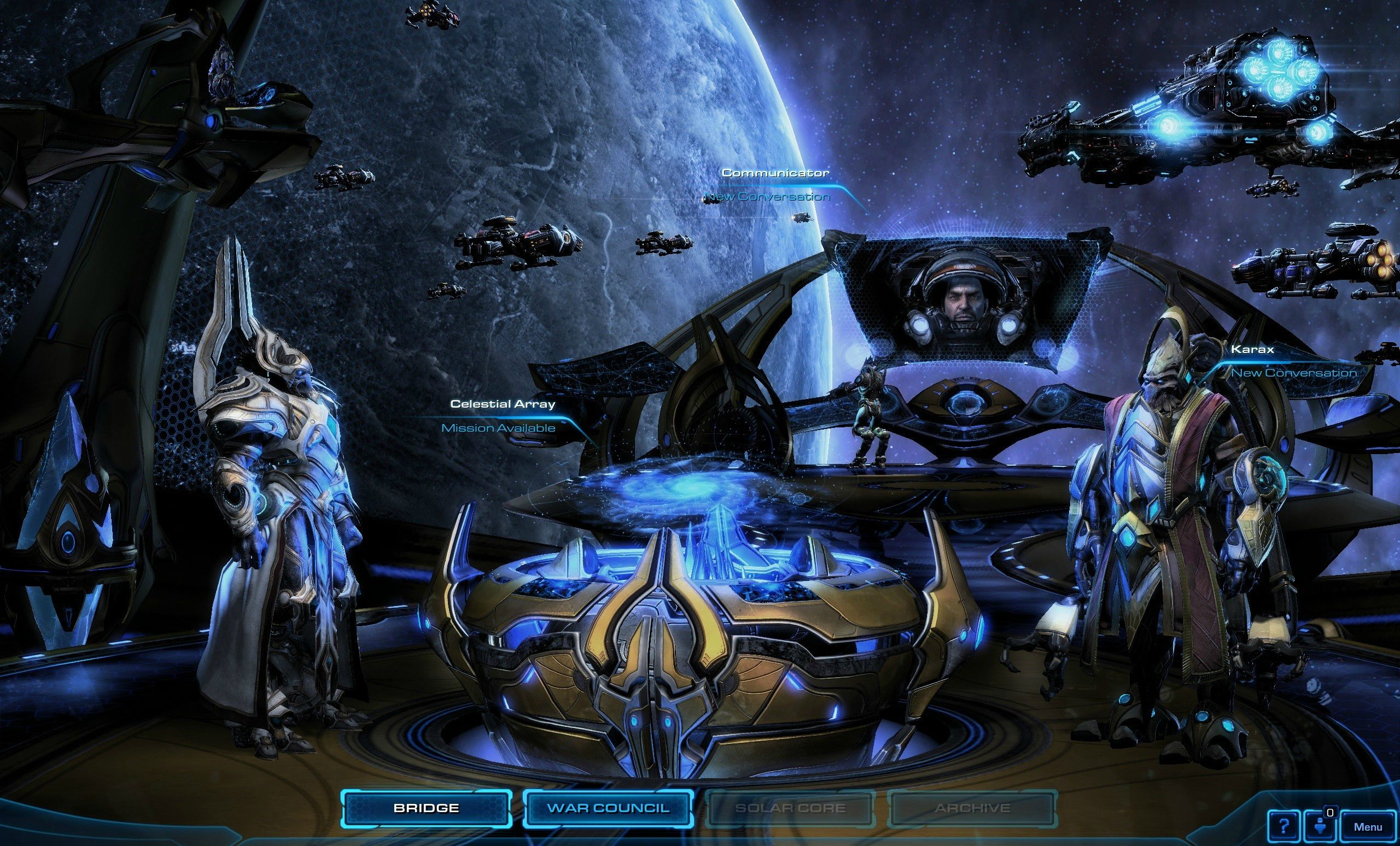 Скриншот StarCraft 2: Legacy of the Void v3.1