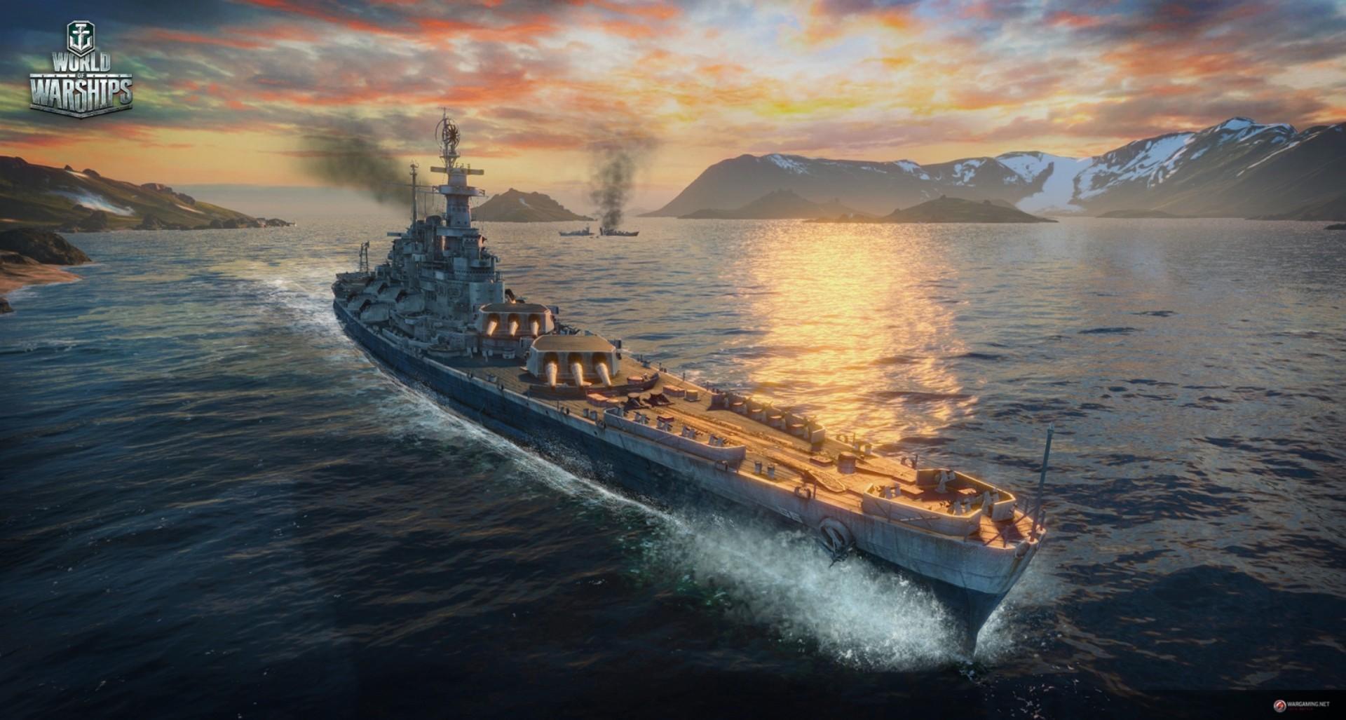 Скриншот World of Warships v0.5.5.2 скачать торрентом