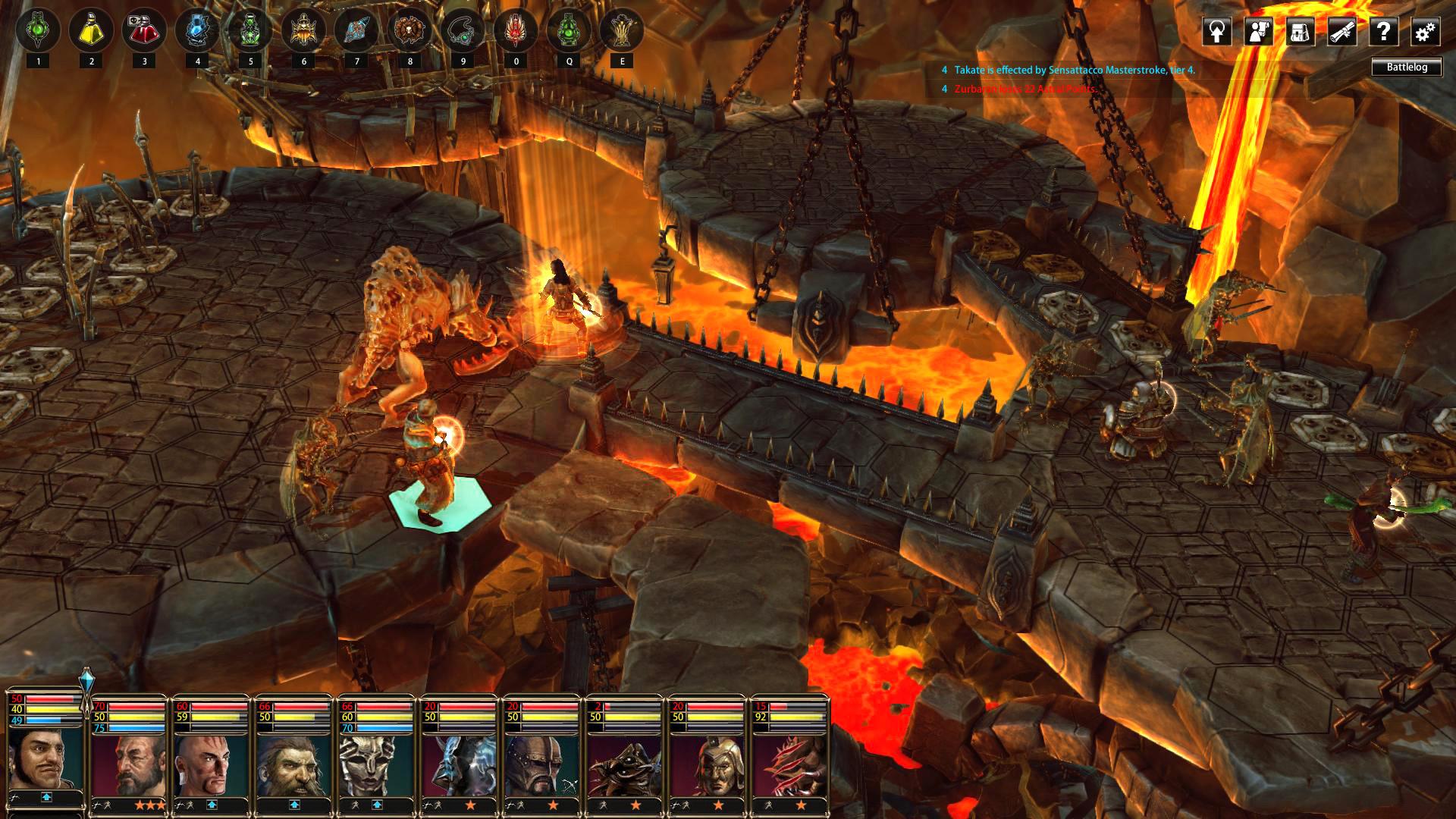 Скриншот Blackguards 2 (Лицензия) скачать торрентом