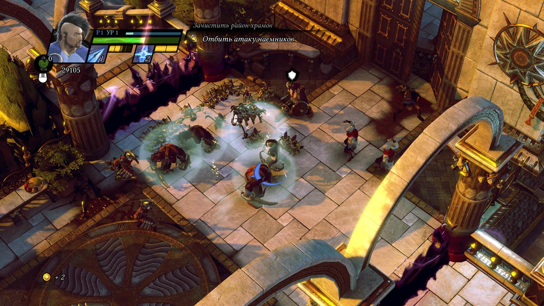 Скриншот Sacred 3: The Gold Edition скачать торрентом