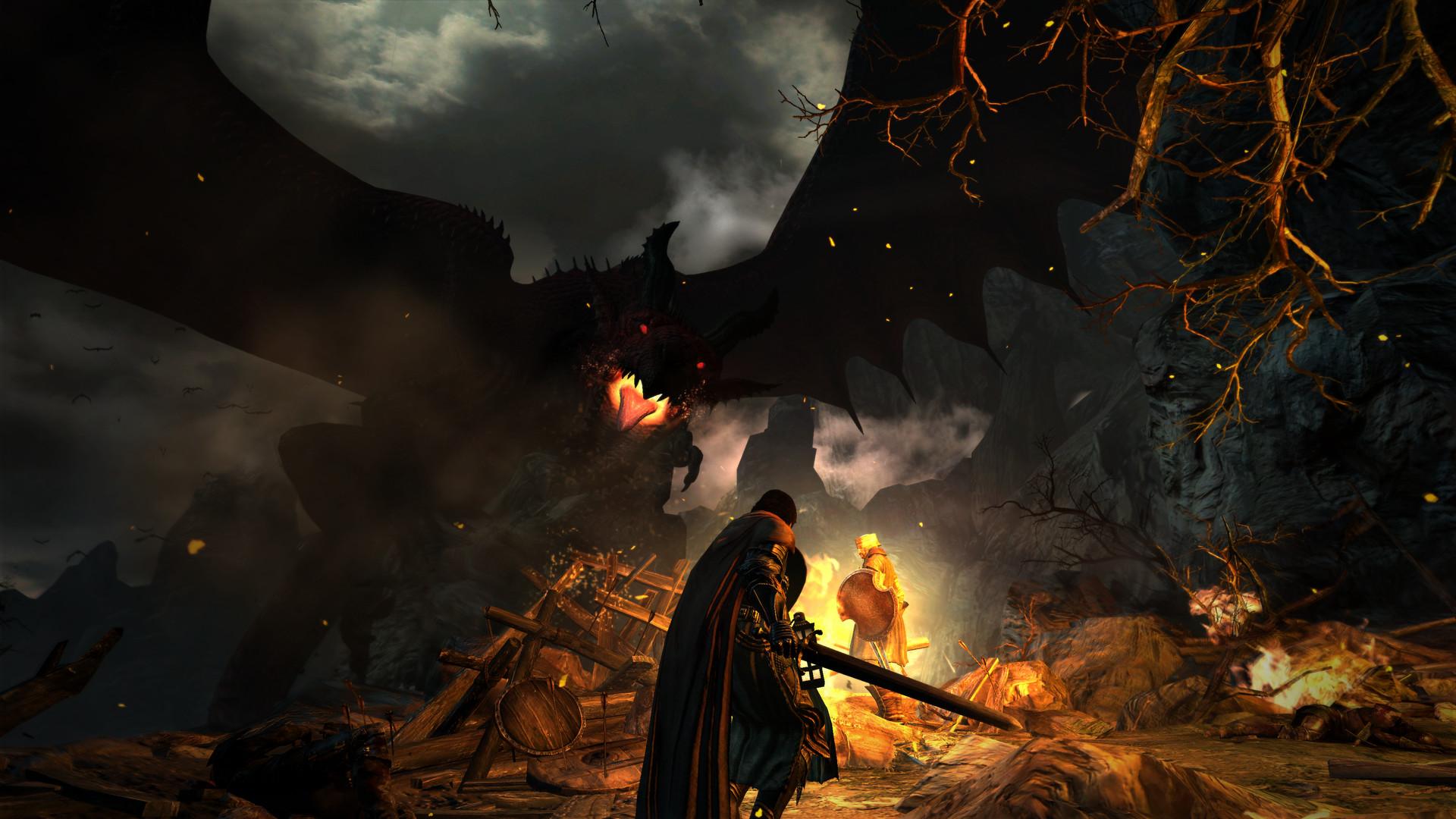 Скриншот Dragon's Dogma: Dark Arisen (Рабочий русский RePack) скачать торрентом