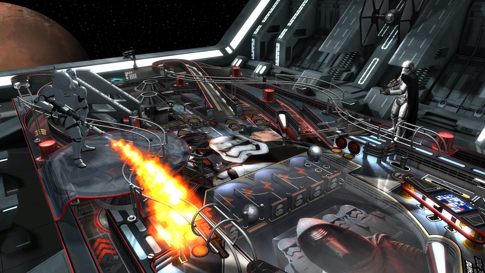 Третий скриншот Pinball FX2 - Star Wars Pinball: The Force Awakens Pack