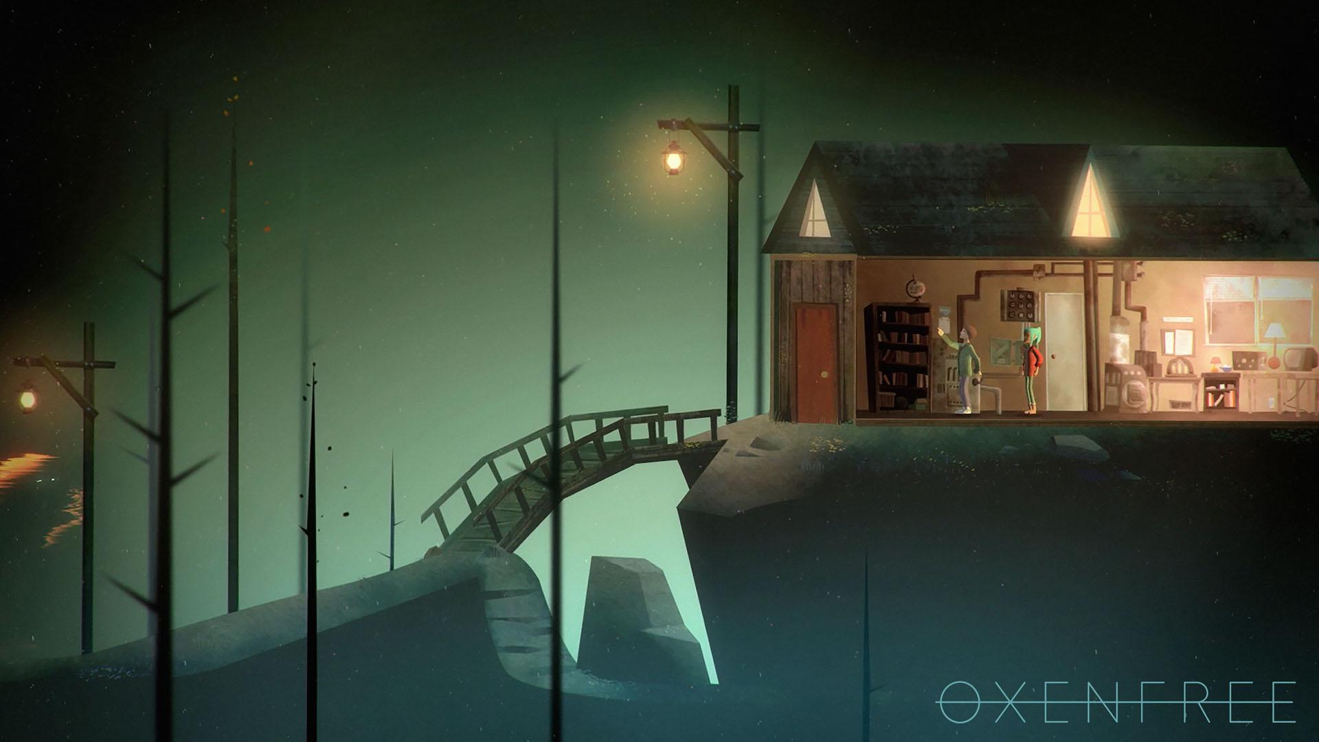 Скриншот Oxenfree (Лицензионная версия)