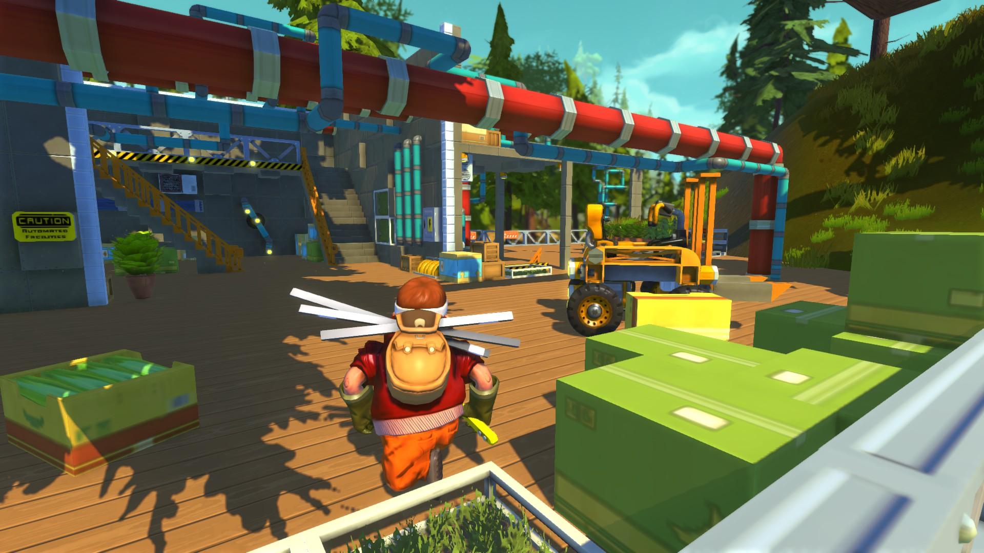 Скриншот Scrap Mechanic v0.1.32 скачать торрентом