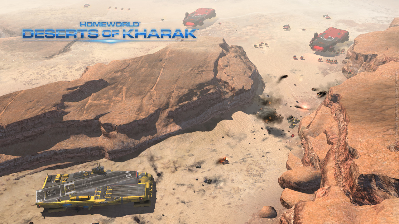 Второй скриншот Homeworld: Deserts of Kharak v1.0.2