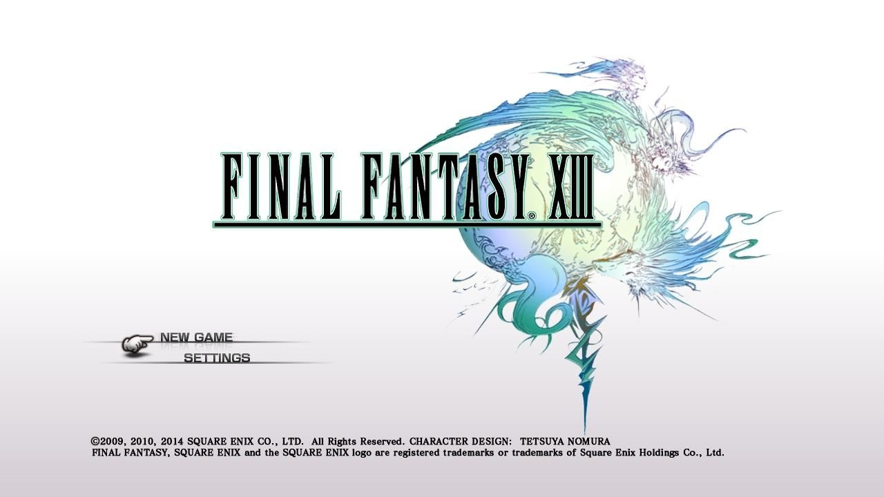 Второй скриншот Final Fantasy XIII