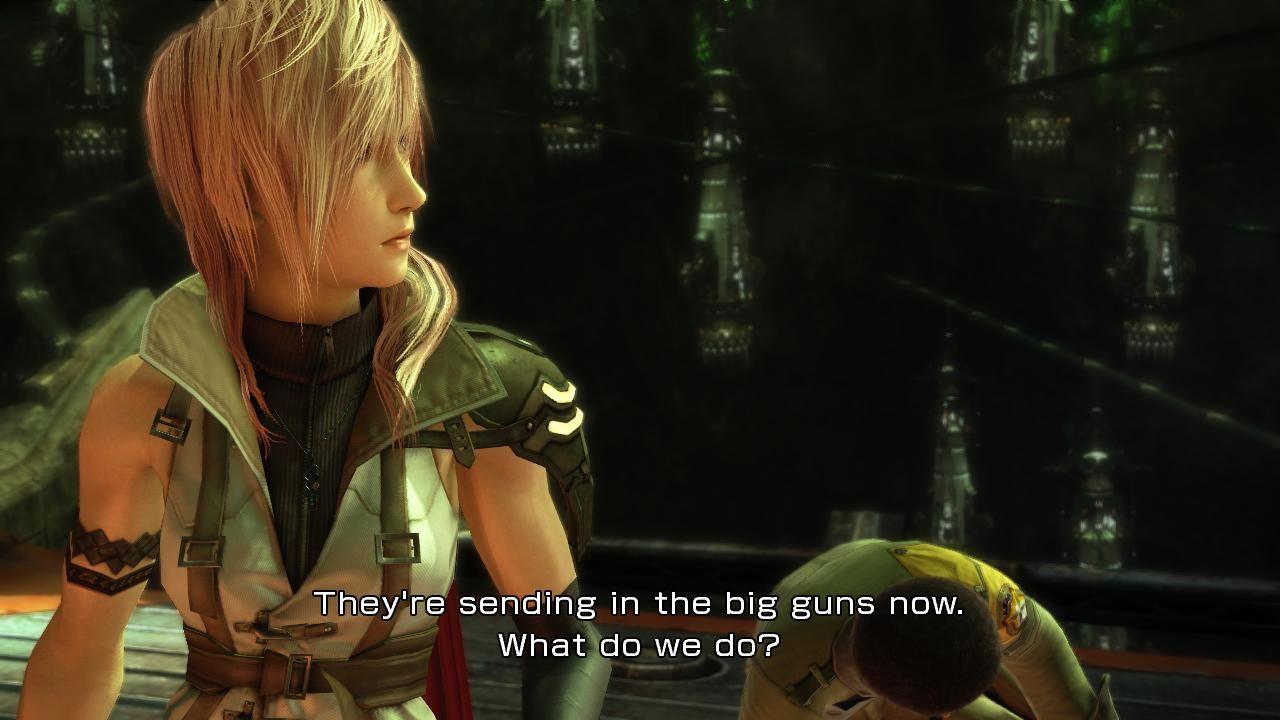 Скриншот Final Fantasy XIII скачать торрентом
