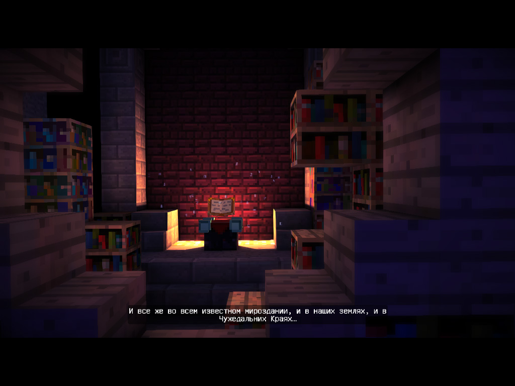 Скриншот Minecraft: Story Mode - A Telltale Games Series. Episode 1 №3