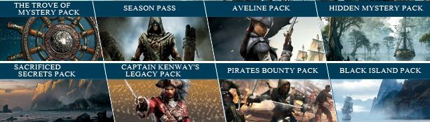 Assassin's Creed IV Black Flag Gold Edition v.1.01 + DLC (2013/RUS/RiP от SEYTER)