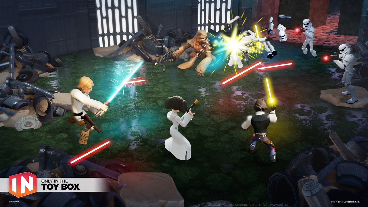 Скриншот Disney Infinity 3.0 Edition №2