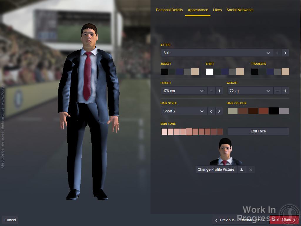 Скриншот Football Manager 2016 скачать торрентом