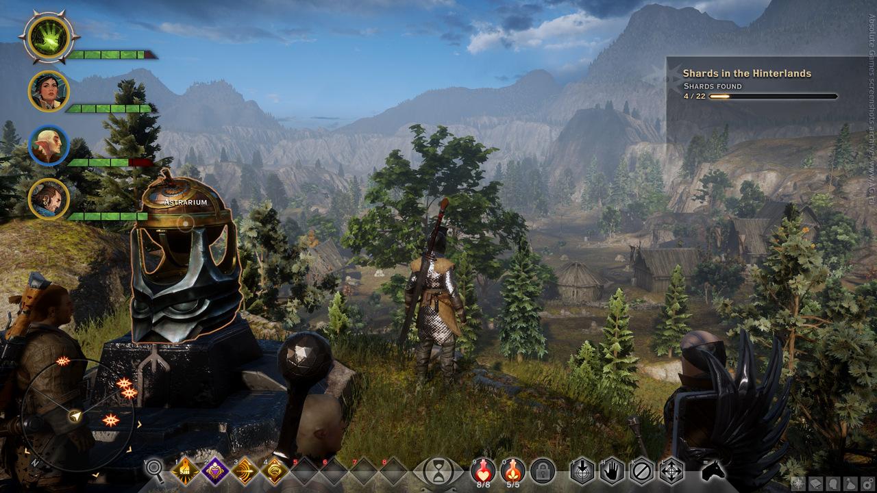 Скриншот Dragon Age Inquisition - Deluxe Edition v1.2 (Patch 2) RePack скачать торрентом