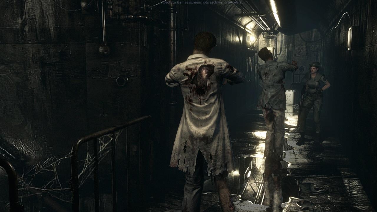 Скриншот Resident Evil HD Remaster для Xbox 360 (FreeBoot)