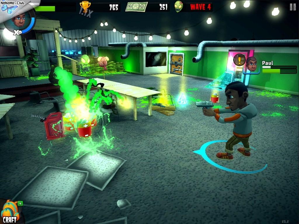 Скриншот Rooster Teeth vs. Zombiens (Лицензия)