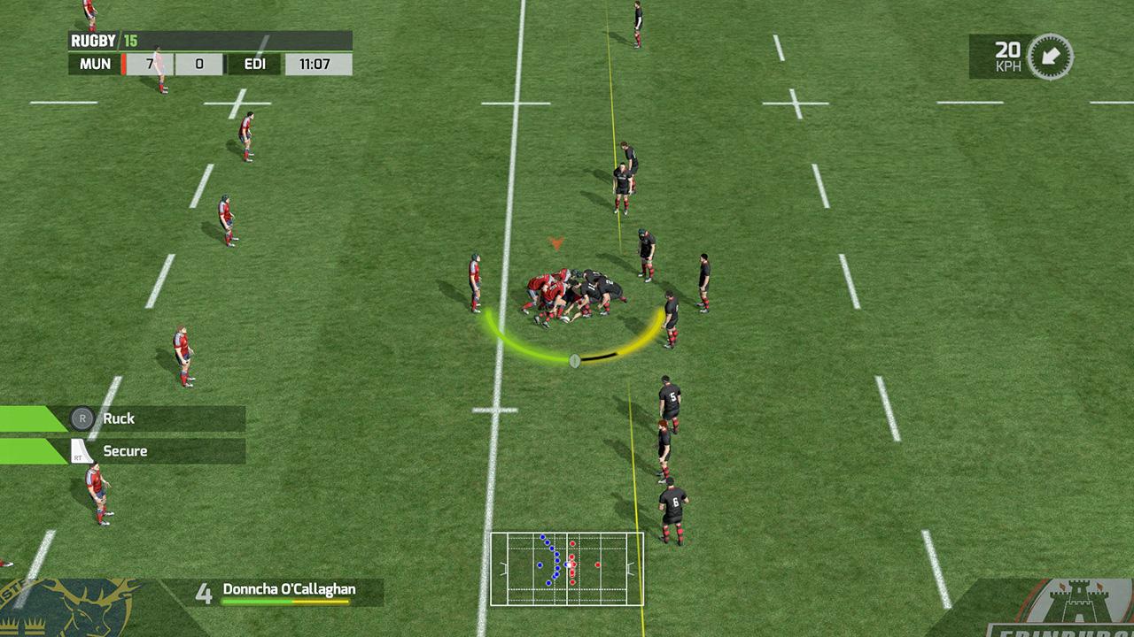 Скриншот Rugby 15 (RePack)