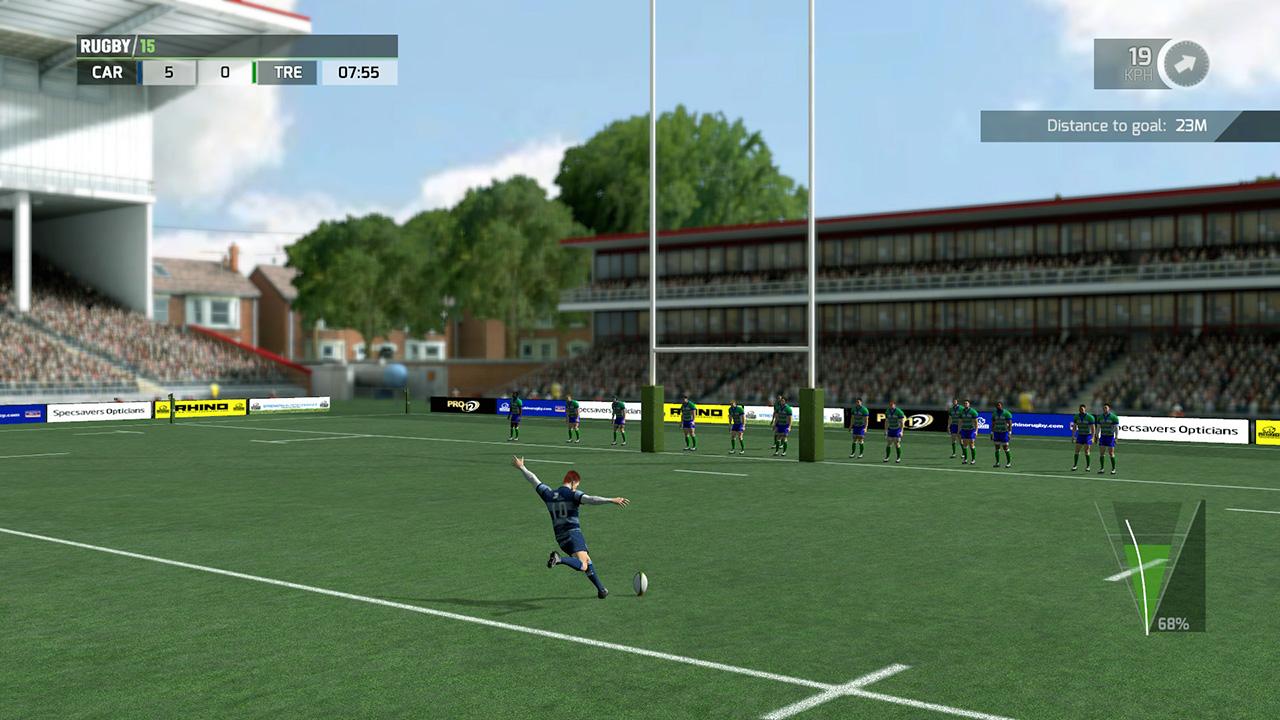 Скриншот Rugby 15 (RePack) скачать торрентом