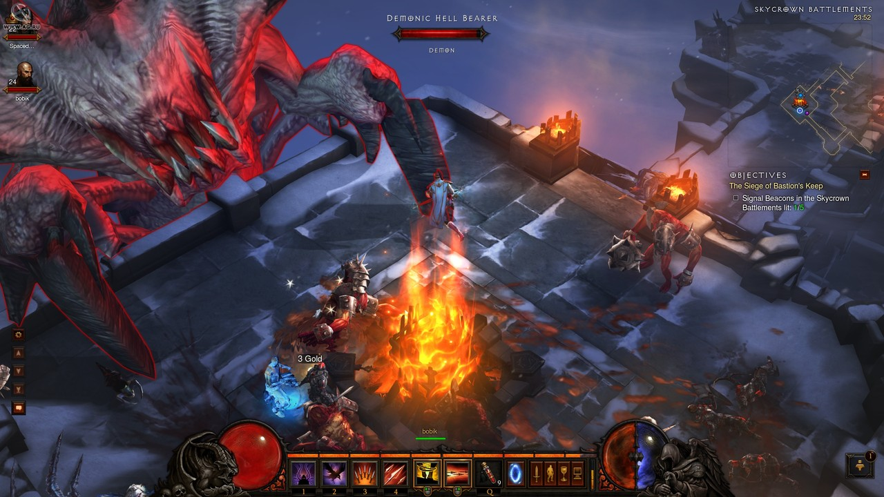 Второй скриншот Diablo 3: Collectors Edition + Reaper of Souls v2.4.1.36608 от 26.04.2016г.