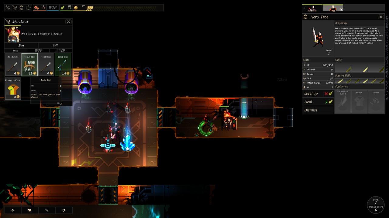 Скриншот Dungeon of the Endless v1.1.3 + 8 DLC