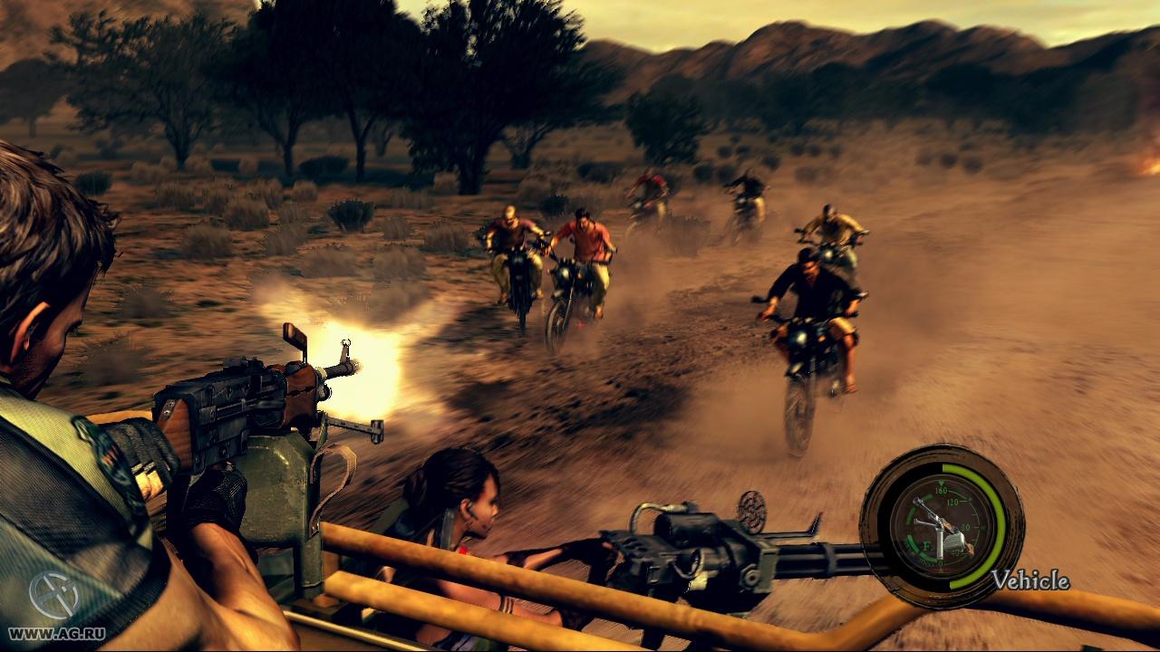 Скриншот Resident Evil 5 Gold Edition (RePack) скачать торрентом