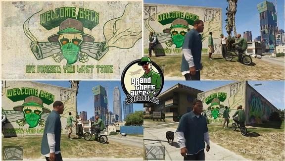 Пасхалки Grand Theft Auto V