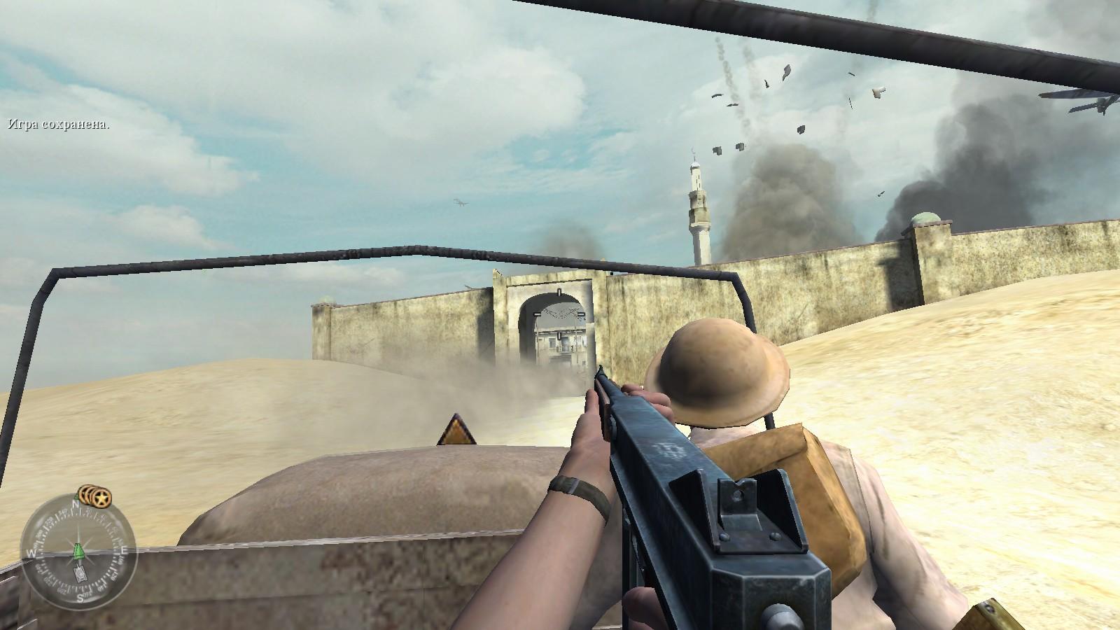 "Call of Duty 2 - Прохождение задания ""Битва за Эль-Аламейн""."