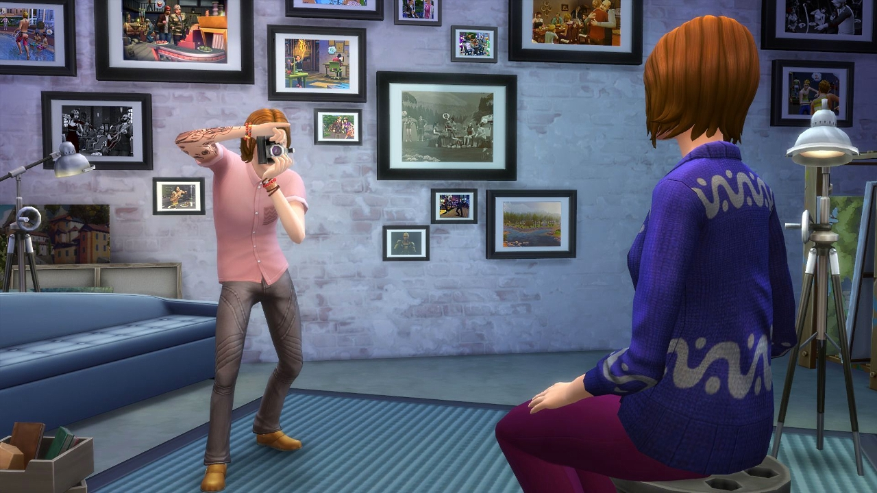 Скриншот Патч Get to Work Update v1.5.139.1020 для игры The Sims 4 №3