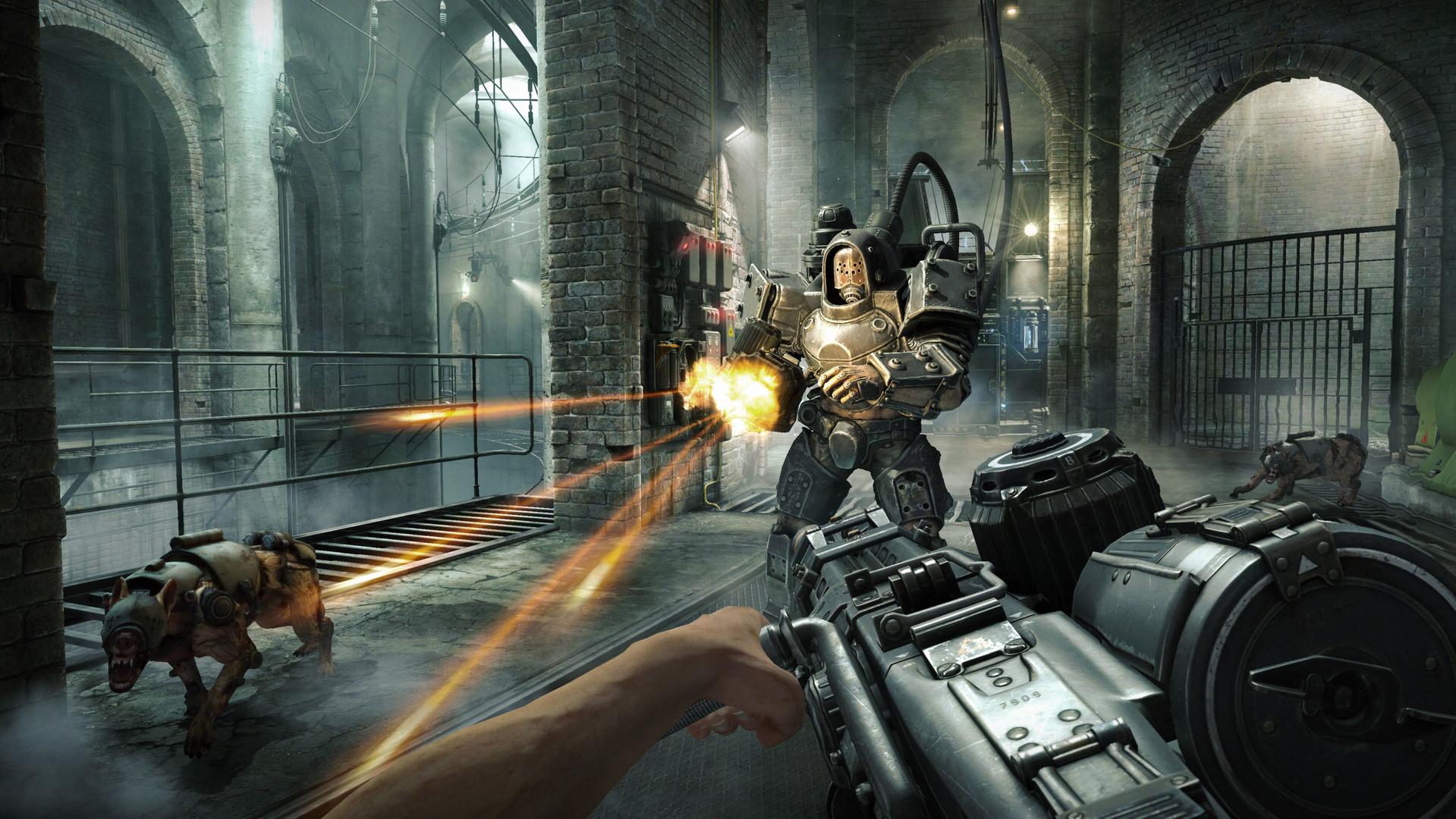 Второй скриншот Wolfenstein The Old Blood (Лицензия)