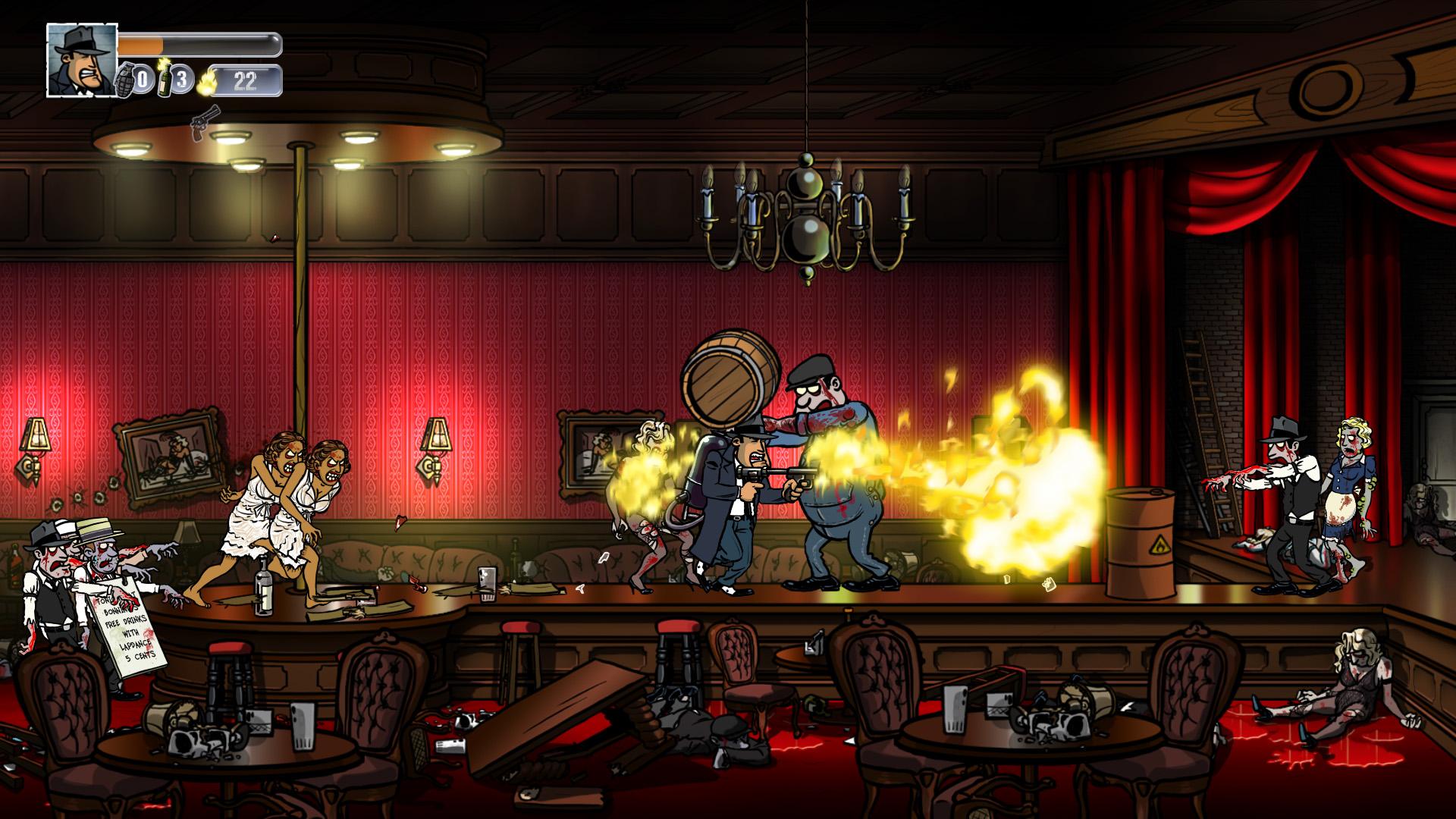 Скриншот Guns, Gore and Cannoli v1.2.10