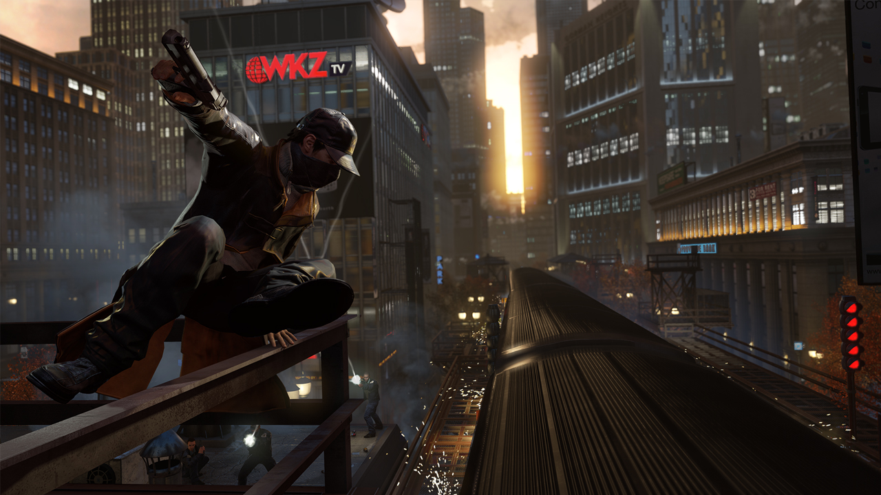 ������ ����� ���� Watch Dogs