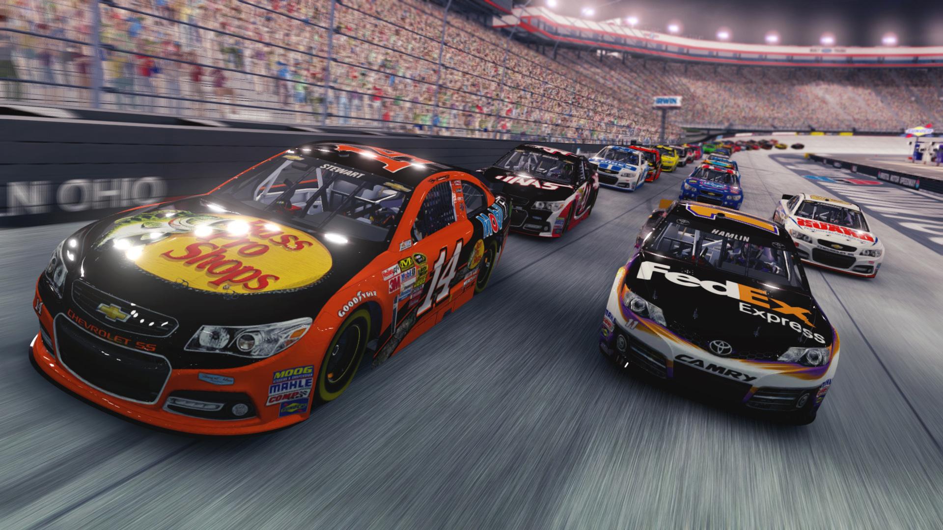 Третий скриншот NASCAR '15 (Лицензия)