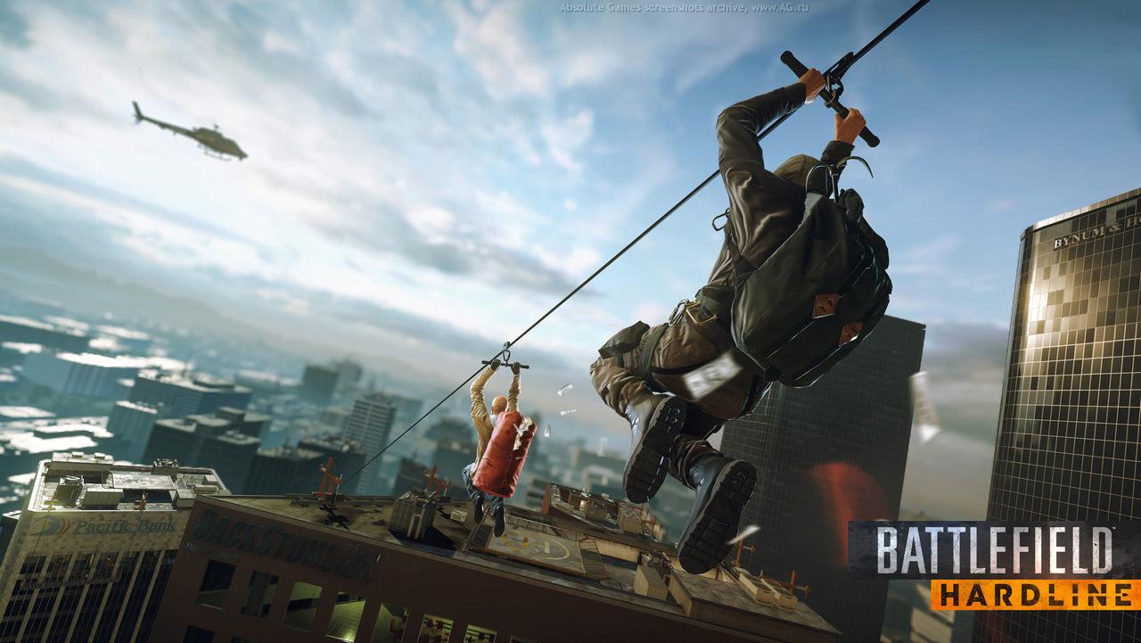 Скриншот Battlefield: Hardline (Бета-версия) скачать торрентом