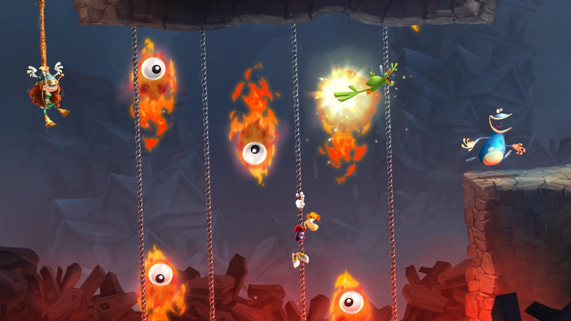 Третий скриншот Rayman Legends (RePack)