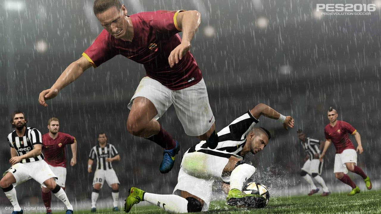 Скриншот Pro Evolution Soccer 2016 скачать торрентом