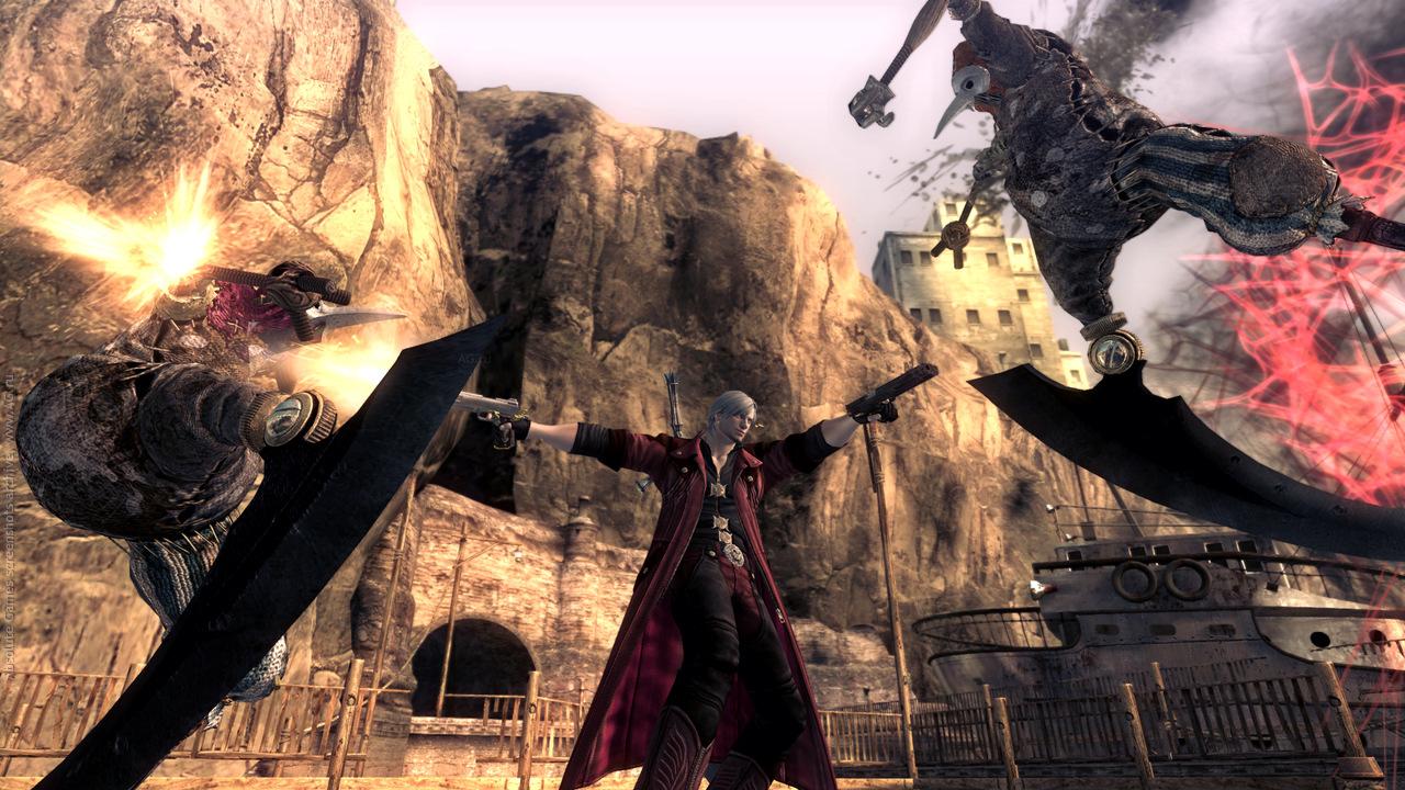 Скриншот Devil May Cry 4 Special Edition скачать торрентом