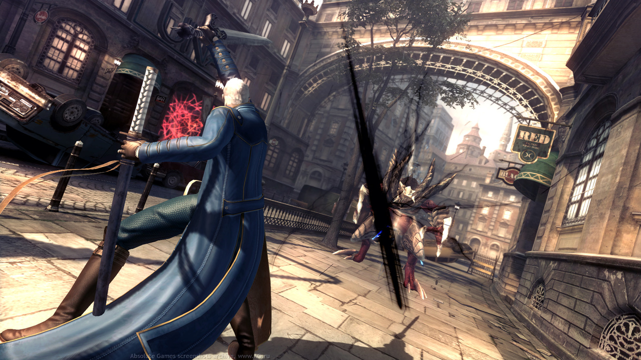 Третий скриншот Devil May Cry 4 Special Edition