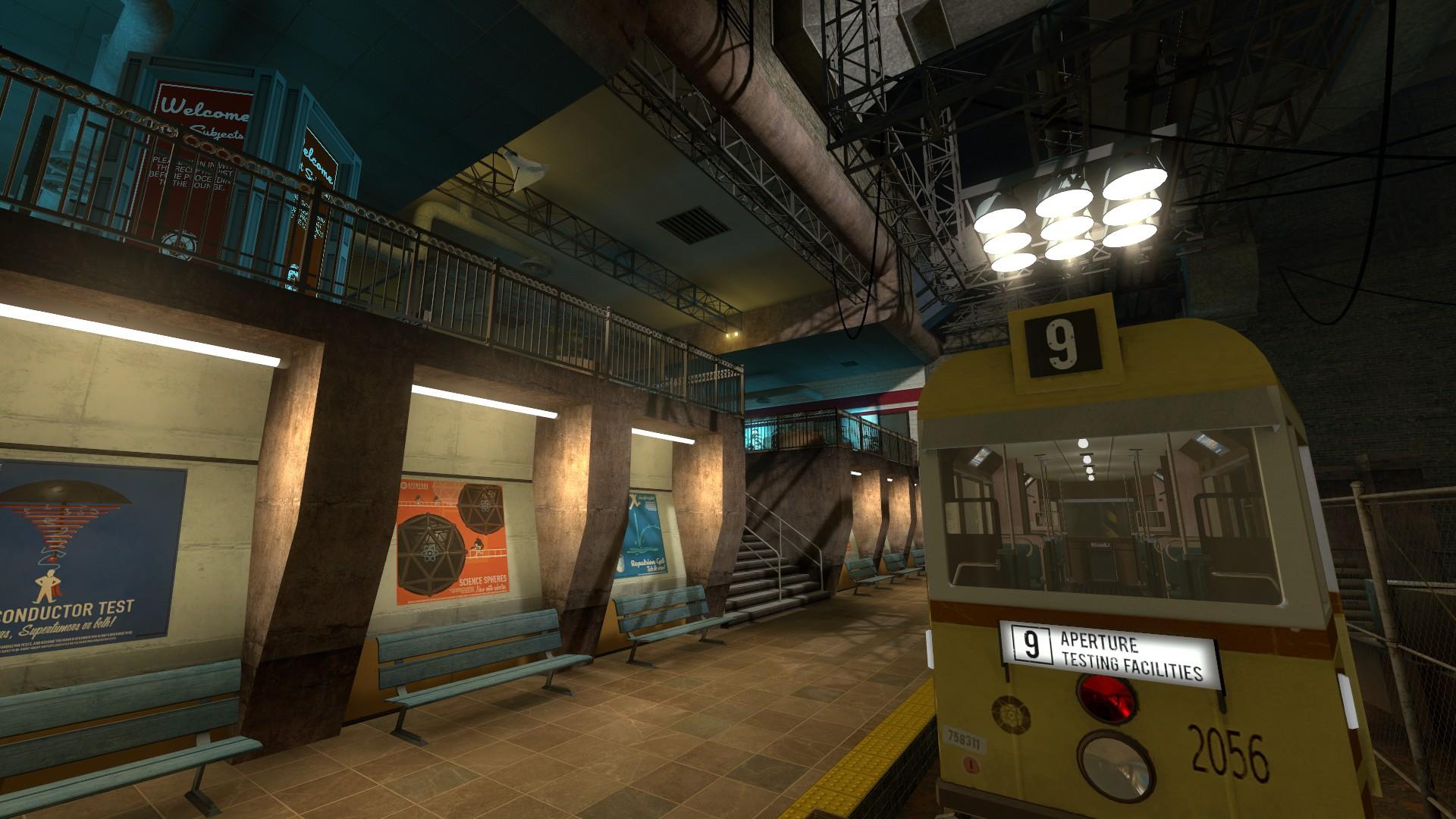 Третий скриншот Portal Stories Mel