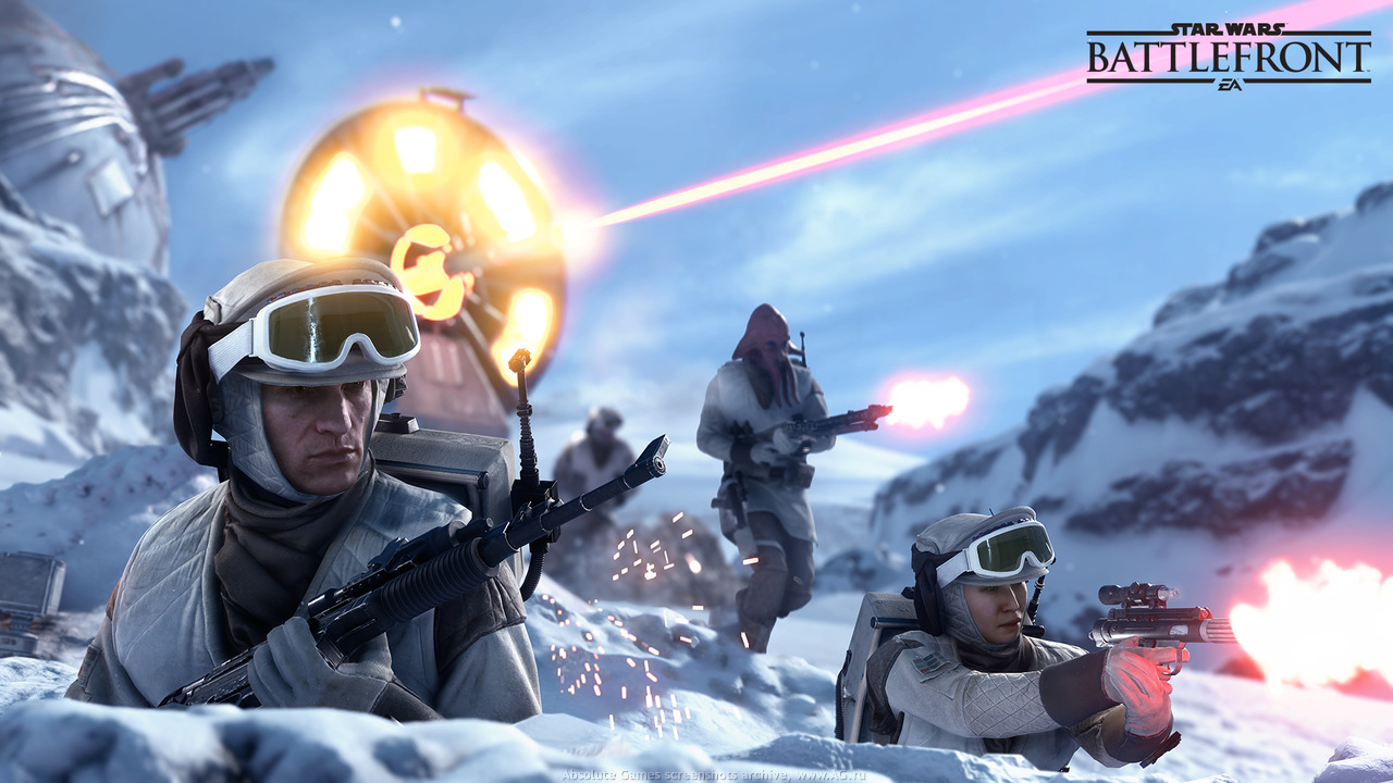 Скриншот Star Wars: Battlefront 3 №3