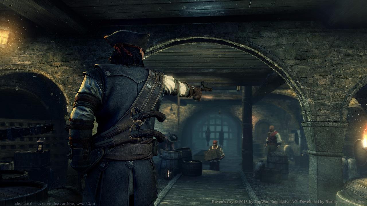 Скриншот Raven's Cry: Digital Deluxe Edition (RePack) скачать торрентом