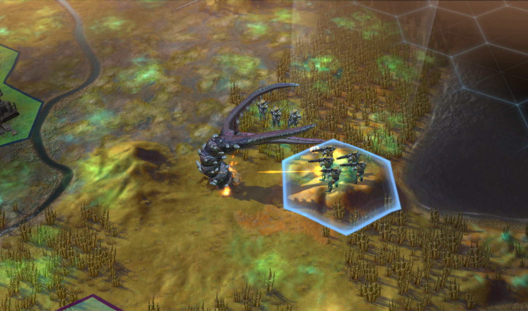 Скриншот Sid Meier's Civilization: Beyond Earth v1.0.1.607 (RePack) скачать торрентом